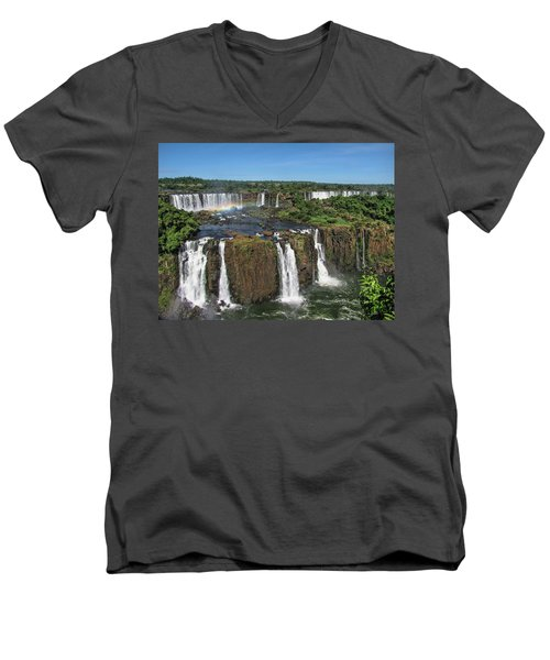 Iguazu Falls Men's V-Neck T-Shirt