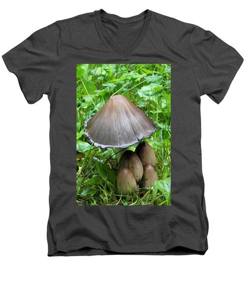 Inky Caps Men's V-Neck T-Shirt