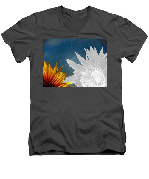 Now And Then  Men's V-Neck T-Shirt