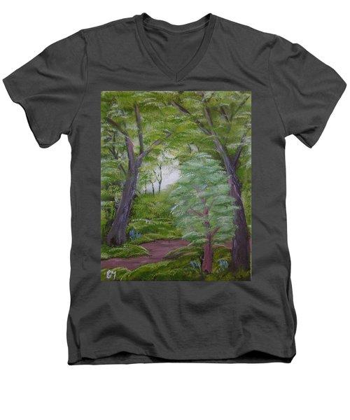Summer Morning Men's V-Neck T-Shirt
