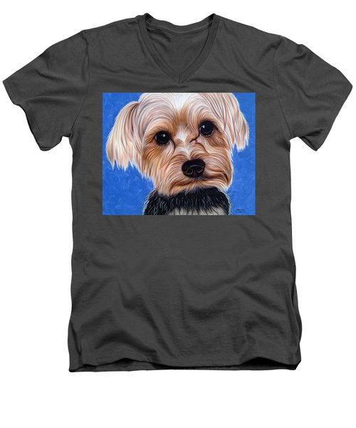 Terrier Men's V-Neck T-Shirt
