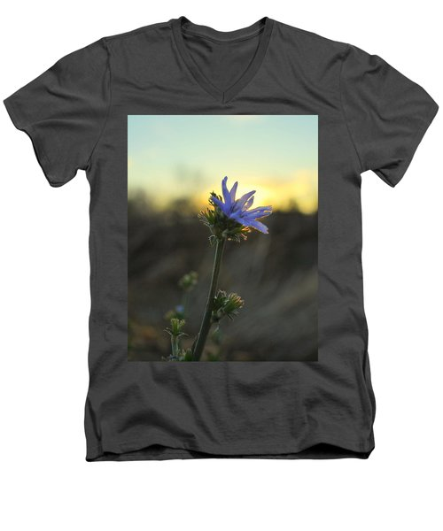 Thistle Men's V-Neck T-Shirt