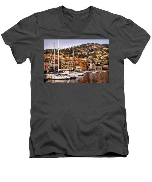 Villefranche-sur-mer  Men's V-Neck T-Shirt