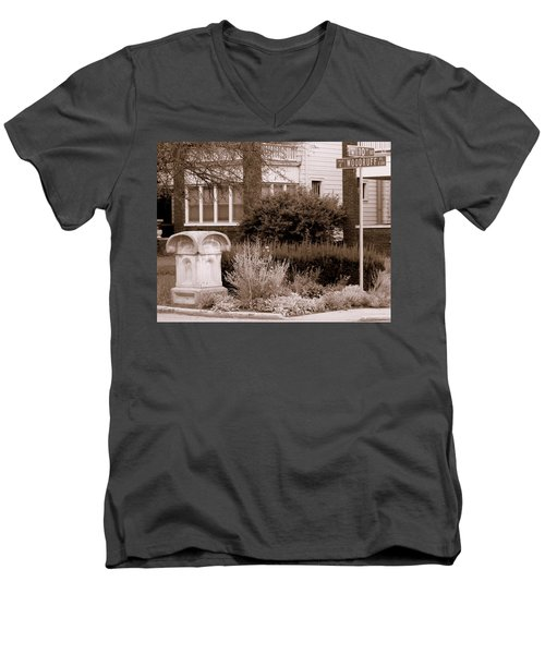 10th And Woodruff Men's V-Neck T-Shirt