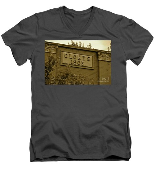 1903 Men's V-Neck T-Shirt by Carol  Bradley