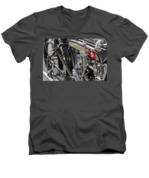 1923 Condor Motorcycle Men's V-Neck T-Shirt