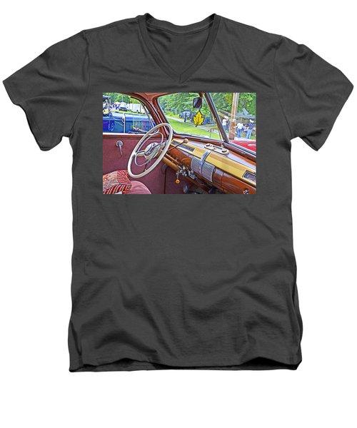 1941 Ford Dash Men's V-Neck T-Shirt