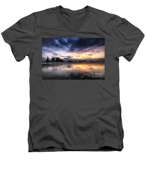Clearing Storm Men's V-Neck T-Shirt