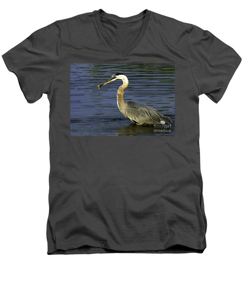 Men's V-Neck T-Shirt featuring the photograph 2 For 1 Dinner Special by Clayton Bruster