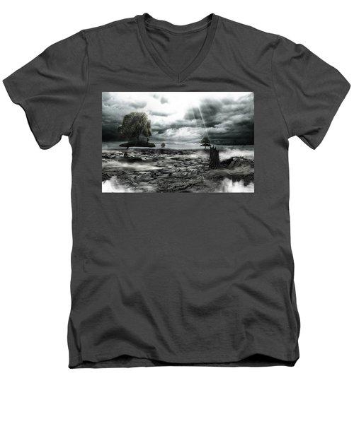 Islands Men's V-Neck T-Shirt