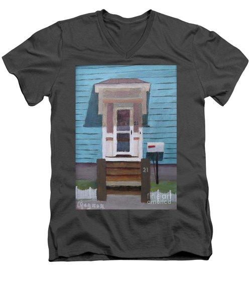 21 Wonson St Men's V-Neck T-Shirt
