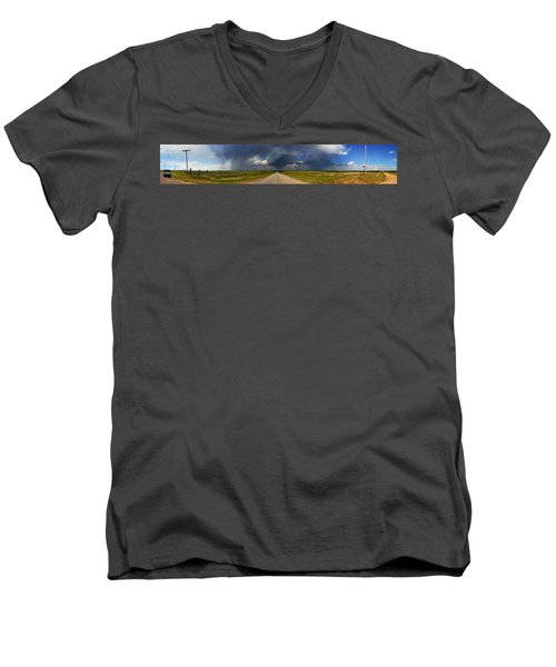 3x3 Men's V-Neck T-Shirt