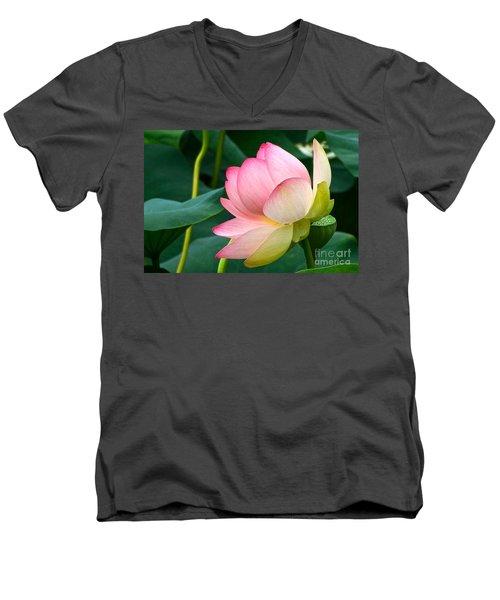 A Gentle Unravelling Men's V-Neck T-Shirt