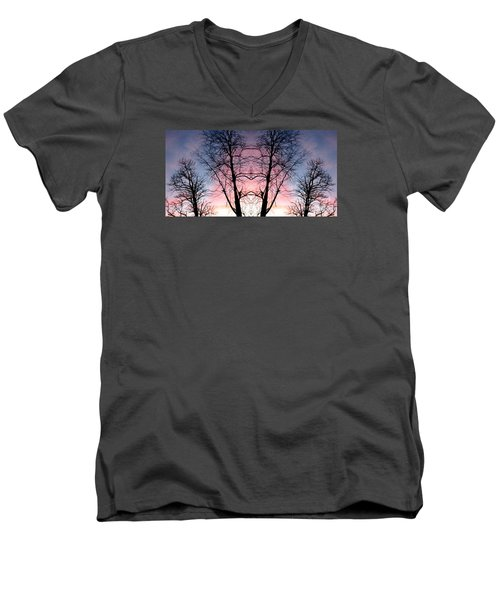Men's V-Neck T-Shirt featuring the photograph A Gift by Amy Sorrell