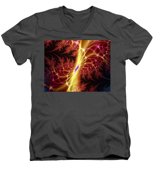 A Twist Of Fate Men's V-Neck T-Shirt