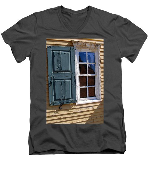 A Window Into The Past Wipp Men's V-Neck T-Shirt