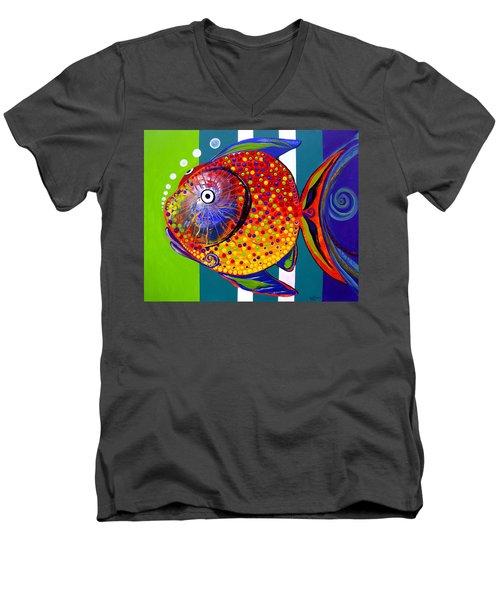Acidfish 60 Men's V-Neck T-Shirt
