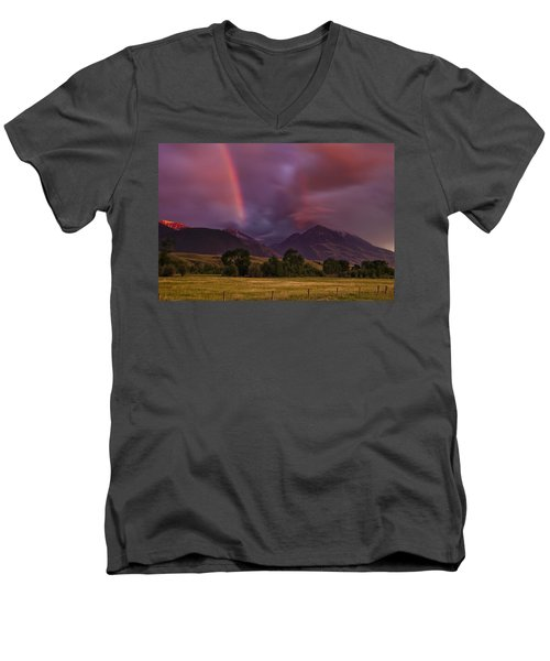 After The Storm Men's V-Neck T-Shirt by Andrew Soundarajan