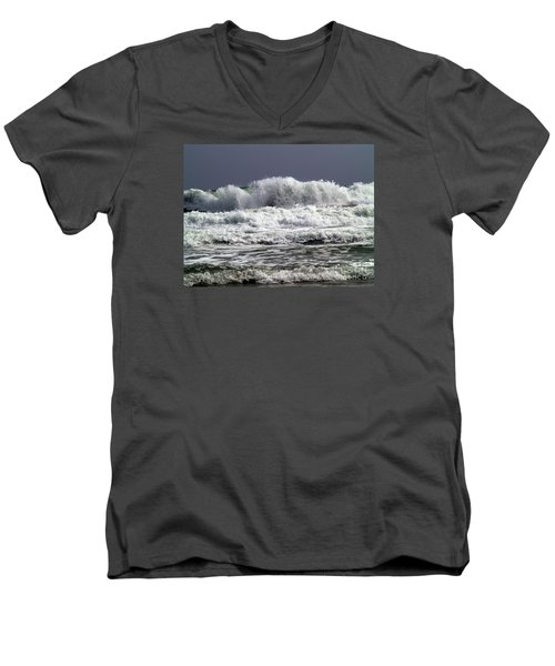 Aftermath Of A Storm Iv Men's V-Neck T-Shirt by Patricia Griffin Brett