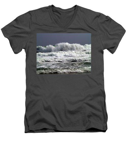 Aftermath Of A Storm Iv Men's V-Neck T-Shirt