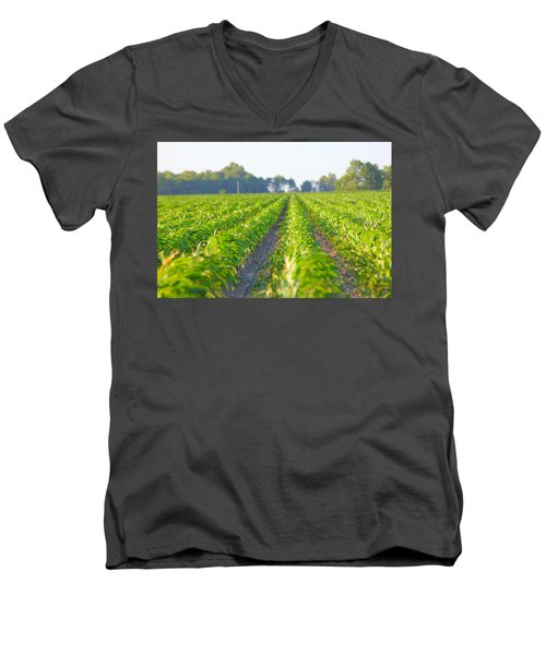 Agriculture- Corn 1 Men's V-Neck T-Shirt