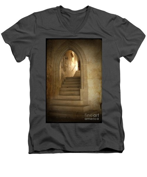 All Experience Is An Arch Men's V-Neck T-Shirt