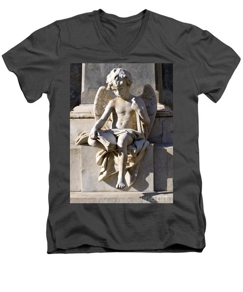 Angel Of Baroque Men's V-Neck T-Shirt