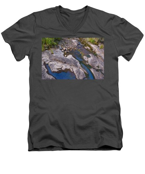 Another World II Men's V-Neck T-Shirt