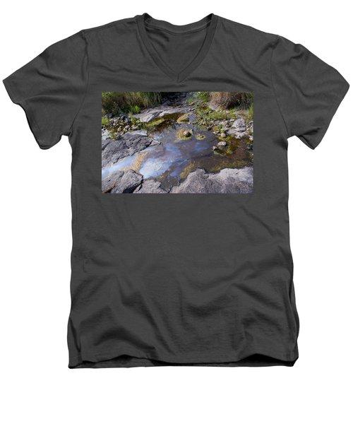 Another World Vi Men's V-Neck T-Shirt