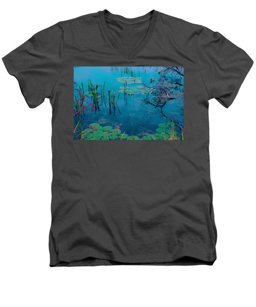 Another World Vii Men's V-Neck T-Shirt
