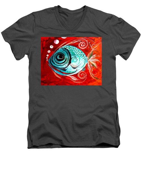 Attract Men's V-Neck T-Shirt