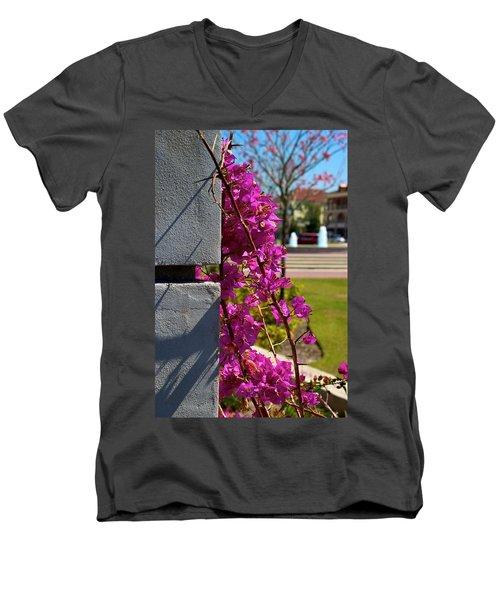 Ave Maria Walk Men's V-Neck T-Shirt