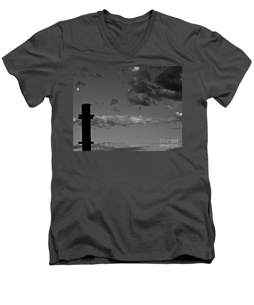 ...babel...to The Moon Men's V-Neck T-Shirt