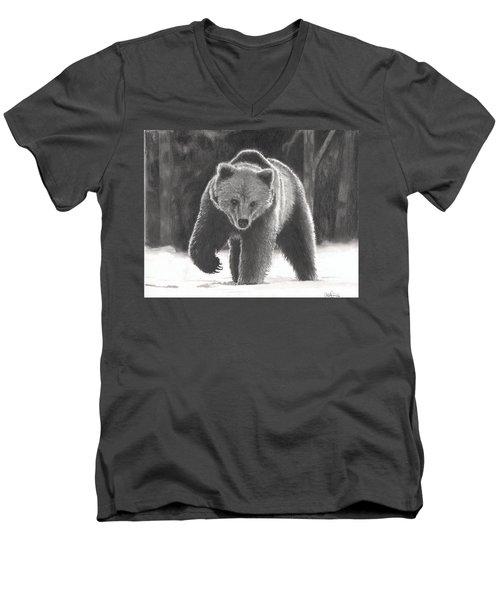 Bear Necessities Men's V-Neck T-Shirt