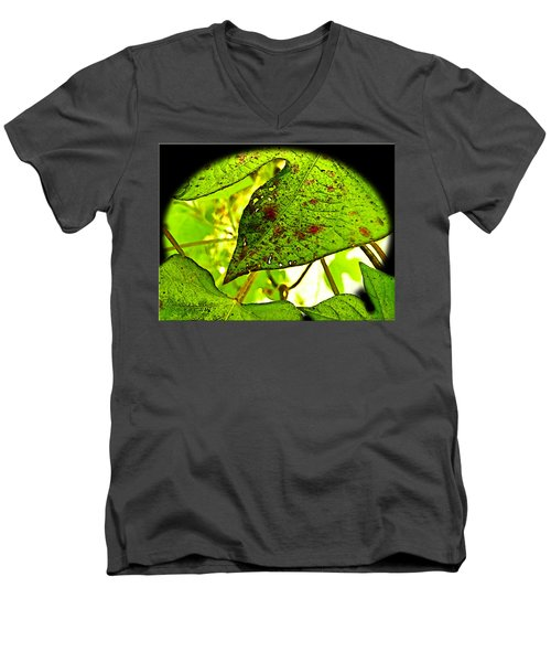 Men's V-Neck T-Shirt featuring the digital art Beautiful Deday by Debbie Portwood
