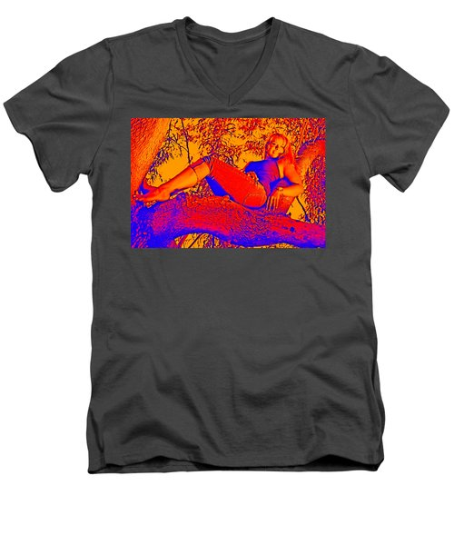 Beauty In A Tree Men's V-Neck T-Shirt