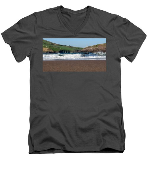Beenbane Beach Men's V-Neck T-Shirt