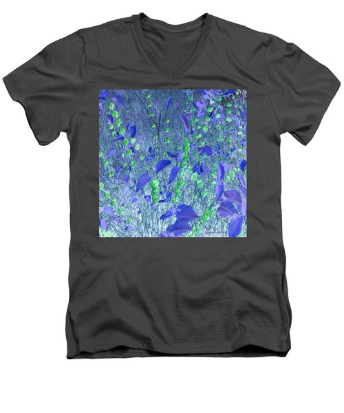 Men's V-Neck T-Shirt featuring the photograph Berries In Repose by George Pedro