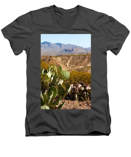 Big Bend Men's V-Neck T-Shirt