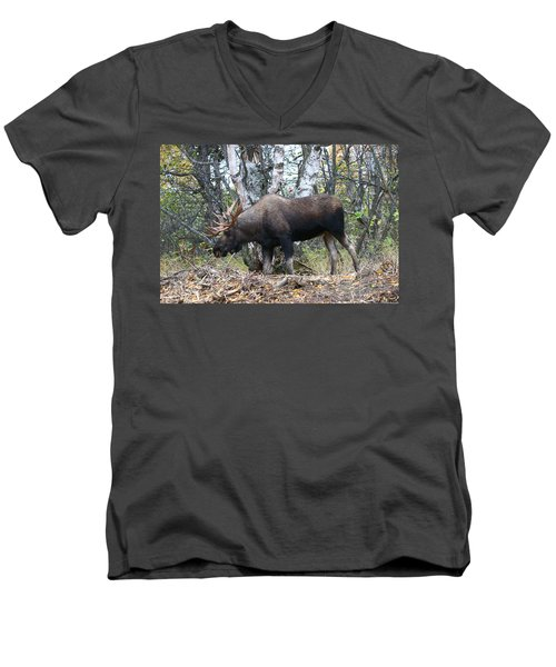 Men's V-Neck T-Shirt featuring the photograph Big Body by Doug Lloyd