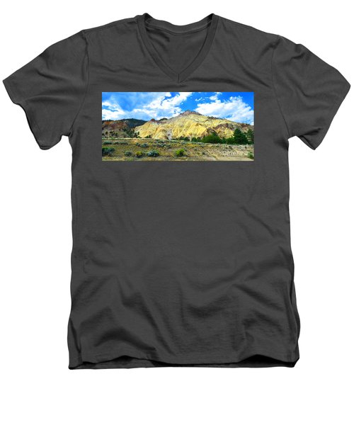 Big Rock Candy Mountain - Utah Men's V-Neck T-Shirt