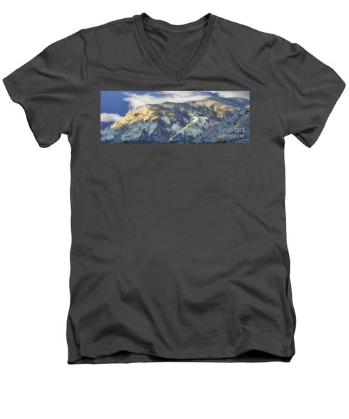 Big Rock Candy Mountains Men's V-Neck T-Shirt