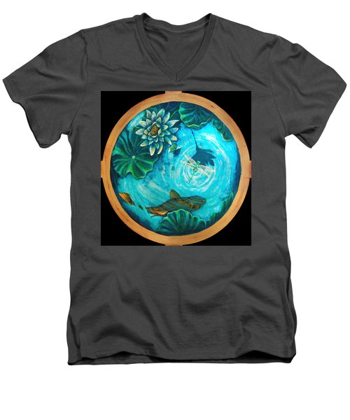 Birdseyedragonfly Men's V-Neck T-Shirt