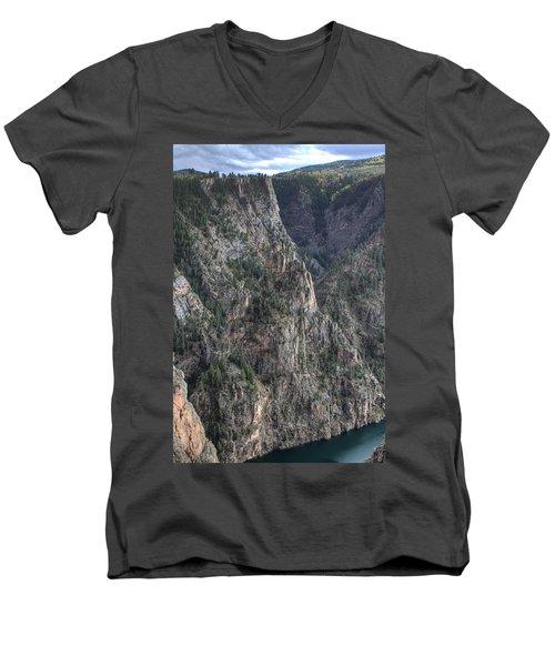 Black Canyon Of The Gunnison National Park Men's V-Neck T-Shirt