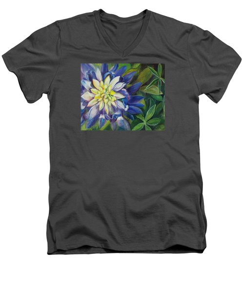 Bluebonnet Daze Men's V-Neck T-Shirt