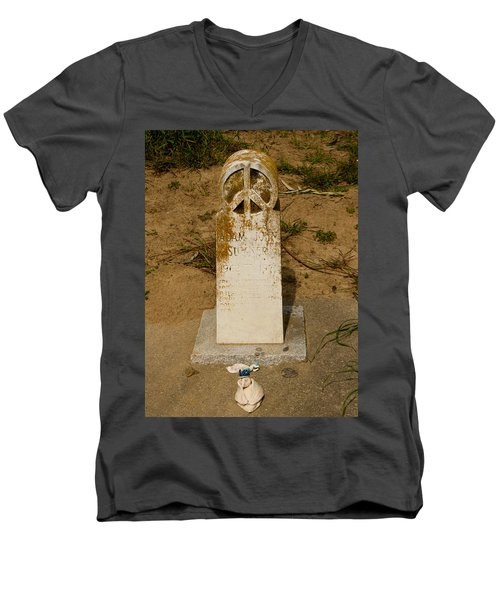 Bodega Bay Cemetery Men's V-Neck T-Shirt
