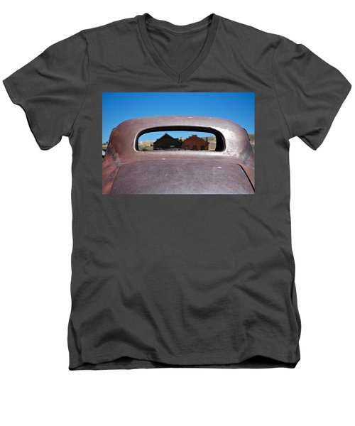 Bodie Ghost Town I - Old West Men's V-Neck T-Shirt