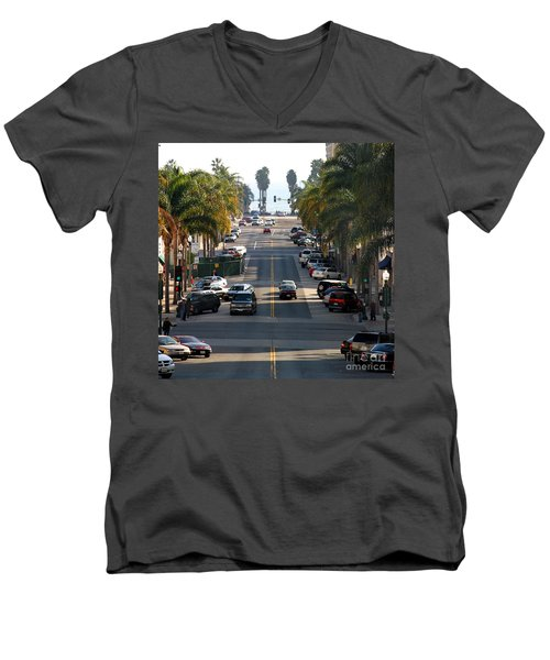 California Street Men's V-Neck T-Shirt