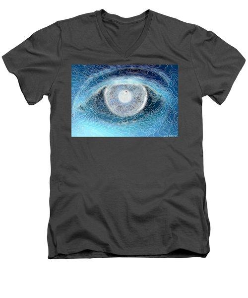 Character Lines Men's V-Neck T-Shirt