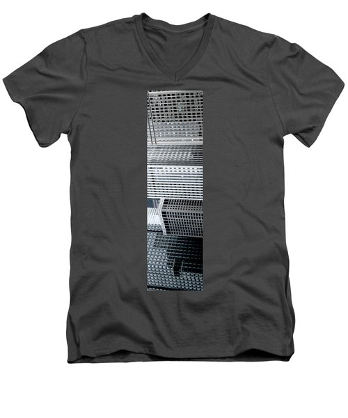 Chicago Impressions 4 Men's V-Neck T-Shirt